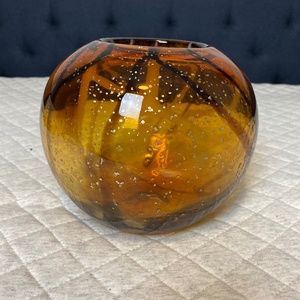 Other - Amber Decorative Vase/Bowl